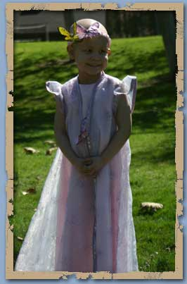 Abella Dressed as a Princess